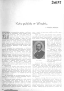 Świat : [pismo tygodniowe ilustrowane poświęcone życiu społecznemu, literaturze i sztuce. R. 1 (1906), nr 5 (3 lutego)
