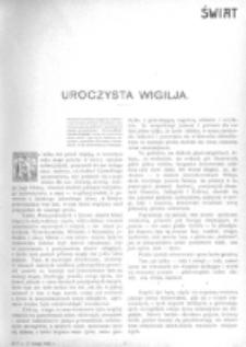 Świat : [pismo tygodniowe ilustrowane poświęcone życiu społecznemu, literaturze i sztuce. R. 1 (1906), nr 7 (17 lutego)