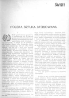 Świat : [pismo tygodniowe ilustrowane poświęcone życiu społecznemu, literaturze i sztuce. R. 1 (1906), nr 8 (24 lutego)
