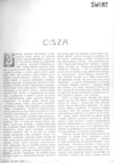 Świat : [pismo tygodniowe ilustrowane poświęcone życiu społecznemu, literaturze i sztuce. R. 1 (1906), nr 12 (24 marca)