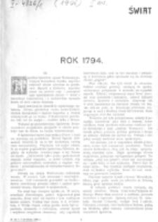 Świat : [pismo tygodniowe ilustrowane poświęcone życiu społecznemu, literaturze i sztuce. R. 1 (1906), nr 14 (7 kwietnia)