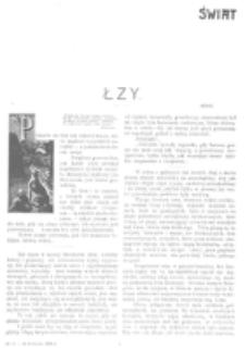 Świat : [pismo tygodniowe ilustrowane poświęcone życiu społecznemu, literaturze i sztuce. R. 1 (1906), nr 15 (14 kwietnia)