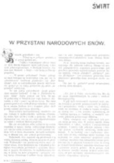Świat : [pismo tygodniowe ilustrowane poświęcone życiu społecznemu, literaturze i sztuce. R. 1 (1906), nr 16 (21 kwietnia)