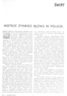 Świat : [pismo tygodniowe ilustrowane poświęcone życiu społecznemu, literaturze i sztuce. R. 1 (1906), nr 17 (28 kwietnia)