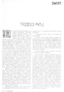 Świat : [pismo tygodniowe ilustrowane poświęcone życiu społecznemu, literaturze i sztuce. R. 1 (1906), nr 18 (5 maja)