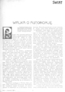 Świat : [pismo tygodniowe ilustrowane poświęcone życiu społecznemu, literaturze i sztuce. R. 1 (1906), nr 23 (9 czerwca)