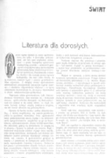 Świat : [pismo tygodniowe ilustrowane poświęcone życiu społecznemu, literaturze i sztuce. R. 1 (1906), nr 25 (23 czerwca)