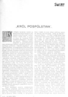 Świat : [pismo tygodniowe ilustrowane poświęcone życiu społecznemu, literaturze i sztuce. R. 1 (1906), nr 26 (30 czerwca)