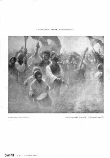 Świat : [pismo tygodniowe ilustrowane poświęcone życiu społecznemu, literaturze i sztuce. R. 1 (1906), nr 36 (8 września)