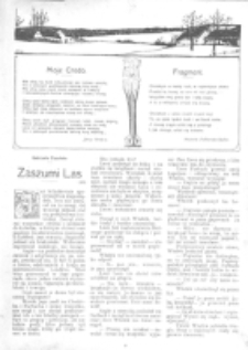 Świat : [pismo tygodniowe ilustrowane poświęcone życiu społecznemu, literaturze i sztuce. R. 1 (1906), nr 49 (8 grudnia)