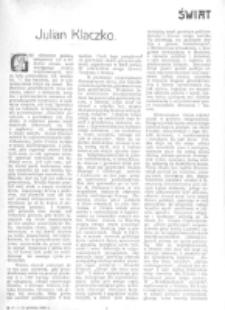 Świat : [pismo tygodniowe ilustrowane poświęcone życiu społecznemu, literaturze i sztuce. R. 1 (1906), nr 50 (15 grudnia)