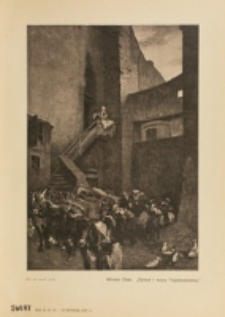 Świat : [pismo tygodniowe ilustrowane poświęcone życiu społecznemu, literaturze i sztuce. R. 2 (1907), nr 14 (6 kwietnia)