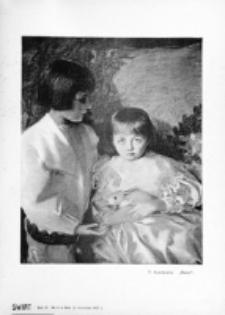 Świat : [pismo tygodniowe ilustrowane poświęcone życiu społecznemu, literaturze i sztuce. R. 2 (1907), nr 38 (21 września)