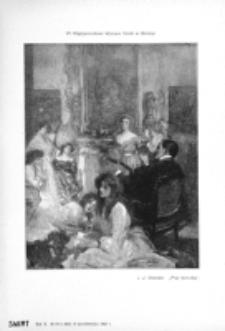 Świat : [pismo tygodniowe ilustrowane poświęcone życiu społecznemu, literaturze i sztuce. R. 2 (1907), nr 43 (26 października)