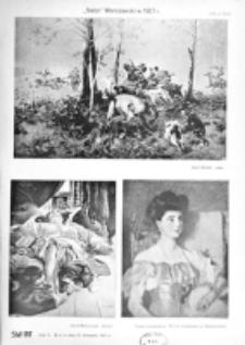 Świat : [pismo tygodniowe ilustrowane poświęcone życiu społecznemu, literaturze i sztuce. R. 2 (1907), nr 47 (23 listopada)