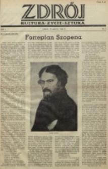 Zdrój : kultura - życie - sztuka. R. 2, nr 6 (15 marca 1946)