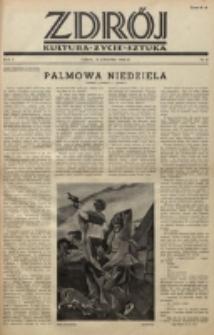 Zdrój : kultura - życie - sztuka. R. 2, nr 8 (15 kwietnia 1946)