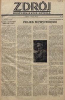 Zdrój : kultura - życie - sztuka. R. 2, nr 10 (15 maja 1946)