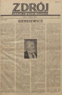Zdrój : kultura - życie - sztuka. R. 2, nr 11 (1 czerwca 1946)