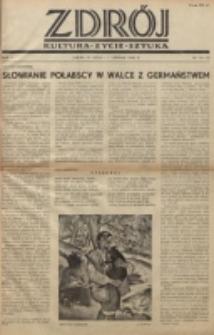 Zdrój : kultura - życie - sztuka. R. 2, nr 14/15 (15 lipca/1 sierpnia 1946)