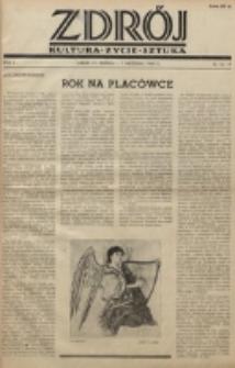 Zdrój : kultura - życie - sztuka. R. 2, nr 16/17 (15 sierpnia/1 września 1946)