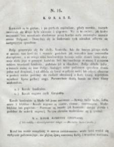 Skarbiec dla Dzieci. Snopek 1, nr 16 (1830)