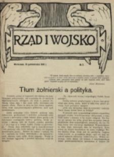 Rząd i Wojsko. 1916, nr 2 (10 października)