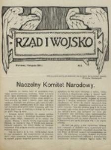 Rząd i Wojsko. 1916, nr 3 (1 listopada)