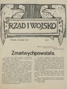 Rząd i Wojsko. 1916, nr 4 (10 listopada)