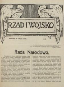 Rząd i Wojsko. 1916, nr 5 (25 listopada)