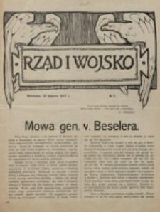 Rząd i Wojsko. 1916, nr 8 (10 stycznia)