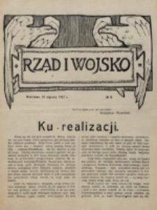 Rząd i Wojsko. 1916, nr 9 (25 stycznia)