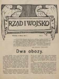 Rząd i Wojsko. 1916, nr 12 (10 marca)