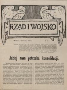 Rząd i Wojsko. 1917, nr 15 (15 kwietnia)