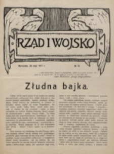 Rząd i Wojsko. 1917, nr 18 (20 maja)