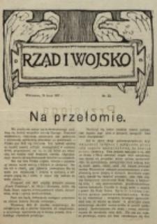 Rząd i Wojsko. 1917, nr 22 (15 lipca)
