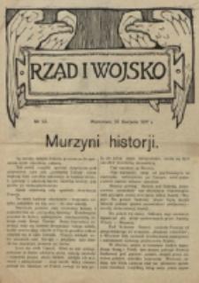 Rząd i Wojsko. 1917, nr 23 (27 sierpnia)
