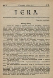 Teka. R. 1 (1917), nr 2 (4 lipca)