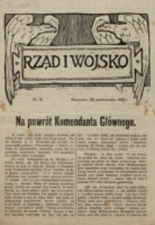 Rząd i Wojsko. 1918, nr 31 (28 października)