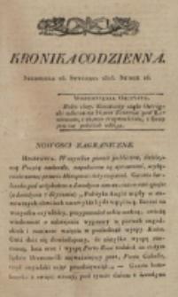 Kronika Codzienna. 1823, nr 26 (26 stycznia)