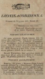 Kronika Codzienna. 1823, nr 28 (28 stycznia)