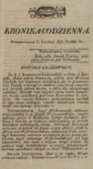 Kronika Codzienna. 1823, nr 34 (5 lutego)