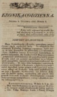 Kronika Codzienna. 1823, nr 8 (8 stycznia)
