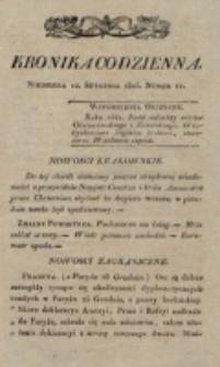 Kronika Codzienna. 1823, nr 12 (12 stycznia)