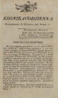 Kronika Codzienna. 1823, nr 13 (13 stycznia)