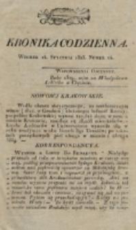 Kronika Codzienna. 1823, nr 14 (14 stycznia)