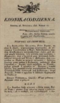 Kronika Codzienna. 1823, nr 15 (15 stycznia)