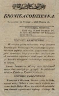Kronika Codzienna. 1823, nr 16 (16 stycznia)