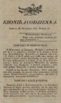 Kronika Codzienna. 1823, nr 18 (18 stycznia)