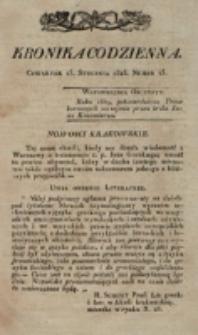 Kronika Codzienna. 1823, nr 23 (23 stycznia)